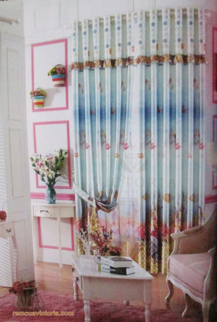 Rèm vải Victoria 10006-1