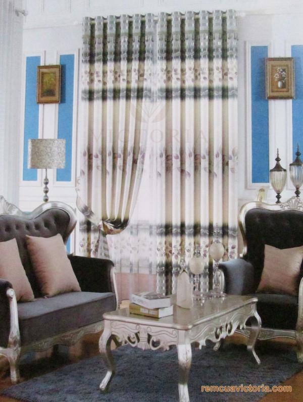 Rèm vải Victoria 10159-14