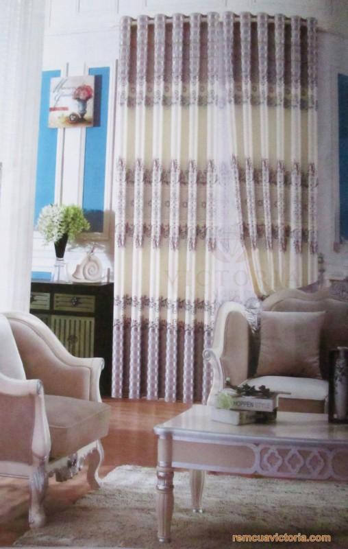 Rèm vải Victoria 17002-16