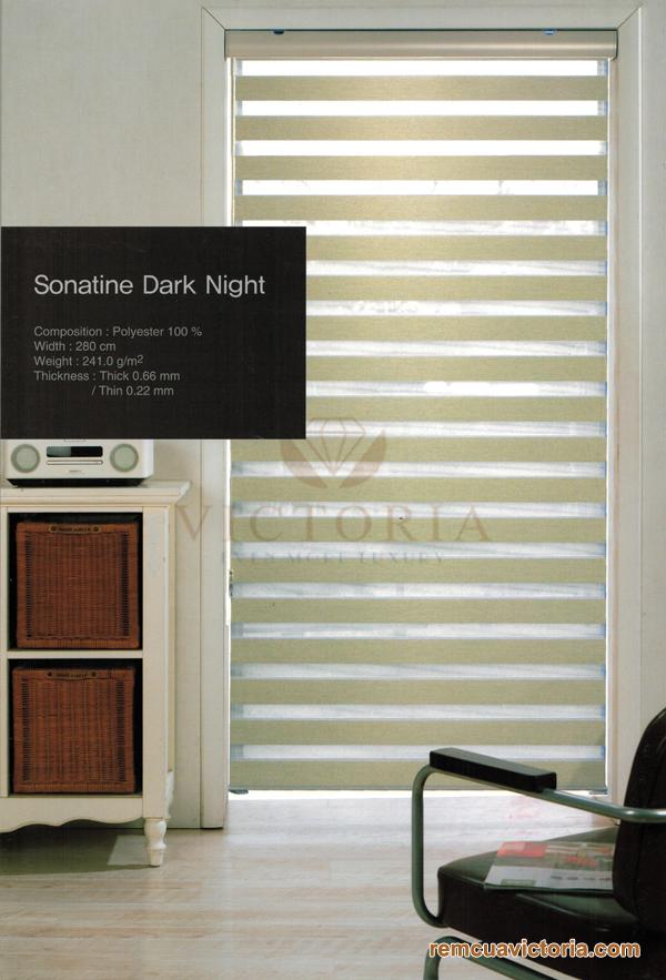 Màn cửa Hàn Quốc Sonatine Dark Night