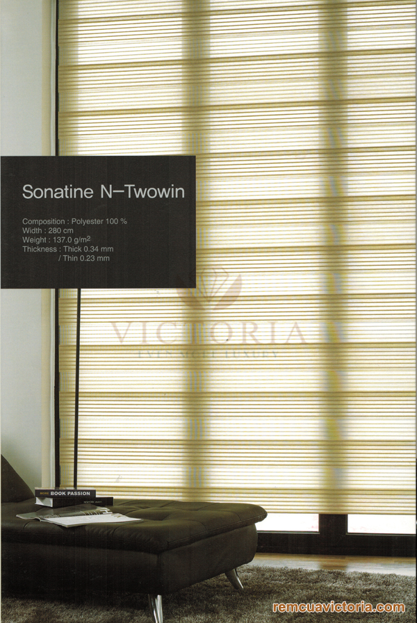 Màn cửa Hàn Quốc Sonatine N-Twowin