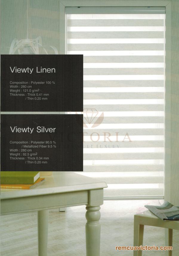 Màn cửa Hàn Quốc Viewty Linen