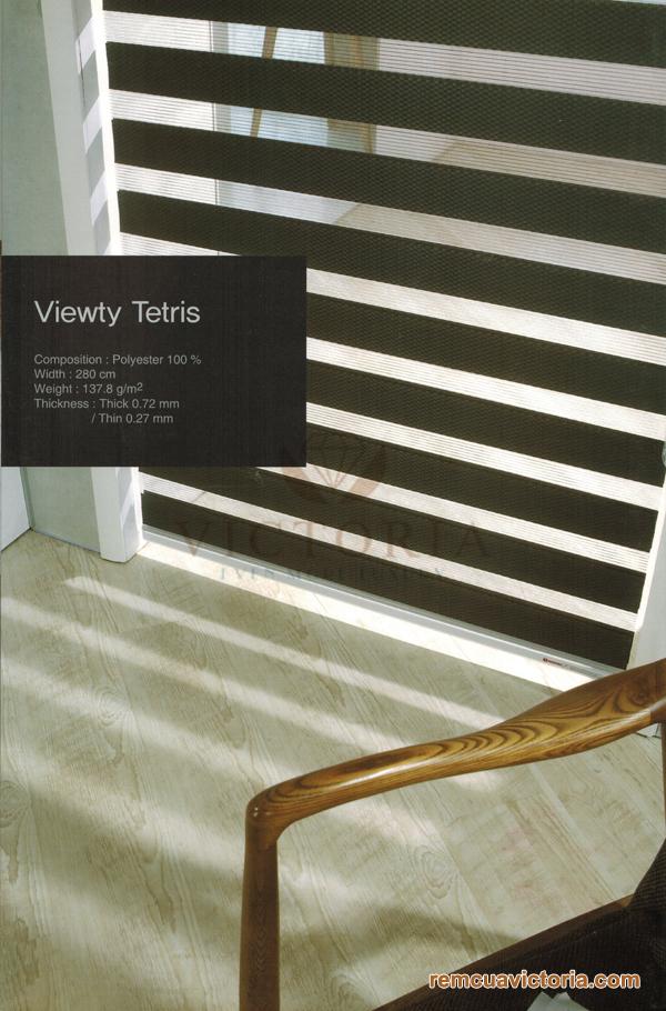 Màn cửa Hàn Quốc Viewty Tetris