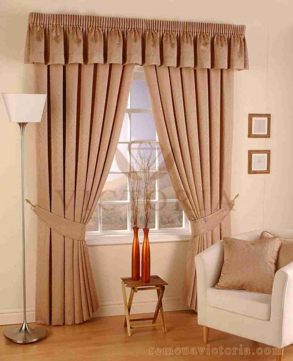 Rèm cửa sổ vải gấm Victoria 327