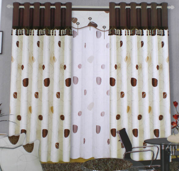 rèm vải thun cotton Victoria