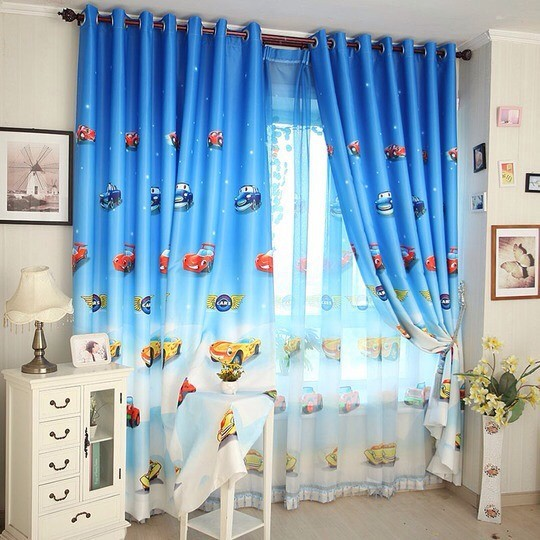 rèm hoa văn đẹp Victoria