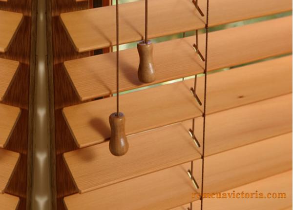 Rèm sáo gỗ victoria