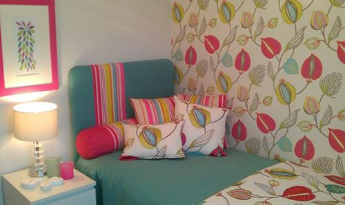 Phòng ngủ đẹp mùa thu